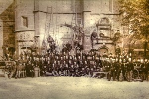 Mannschaft zur Jahrhundertwende